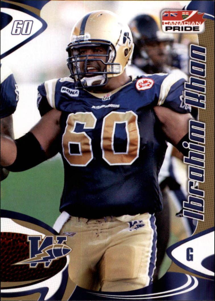 2007 Extreme Sports CFL #42 Ibrahim Khan