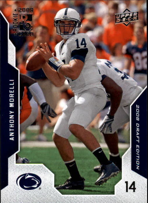 2008 Upper Deck Draft Edition #1 Anthony Morelli RC