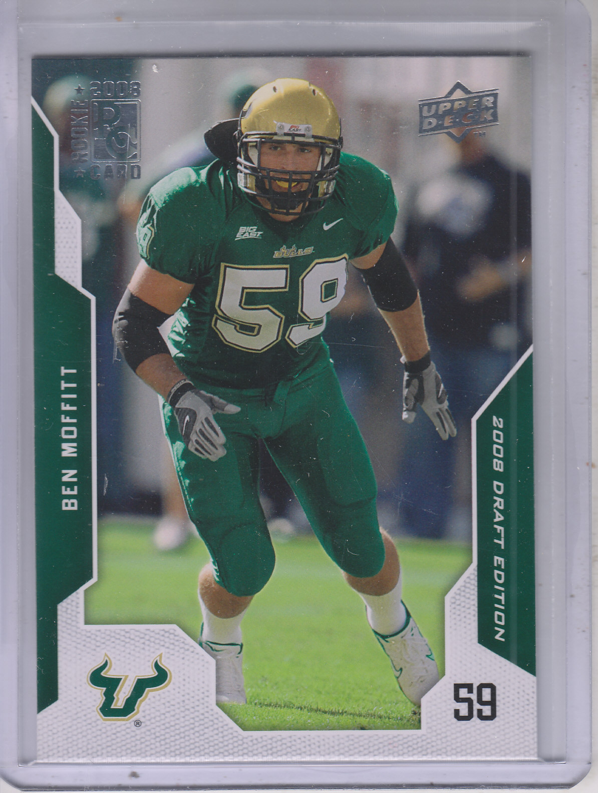 2008 Upper Deck Draft Edition #8 Ben Moffitt RC