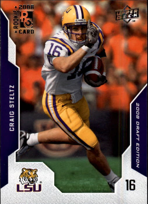 2008 Upper Deck Draft Edition #19 Craig Steltz RC