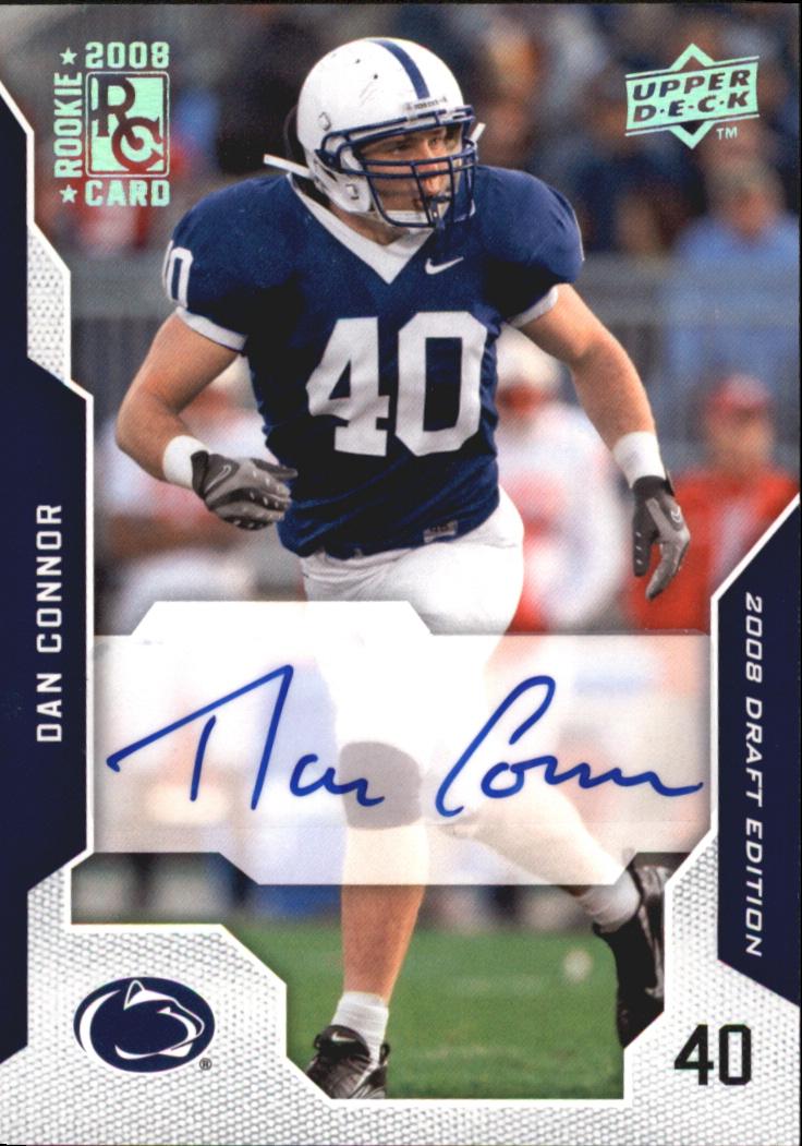 2008 Upper Deck Draft Edition Autographs #21 Dan Connor