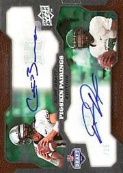 2008 Upper Deck Draft Edition Autographs #213 Colt Brennan/Dennis Dixon/Pigskin Pairings