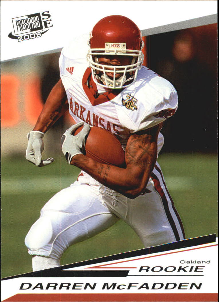 2008 Press Pass SE #20 Darren McFadden