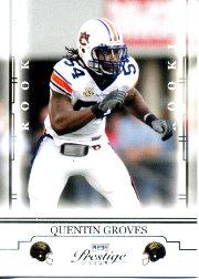 2008 Playoff Prestige #186 Quentin Groves RC