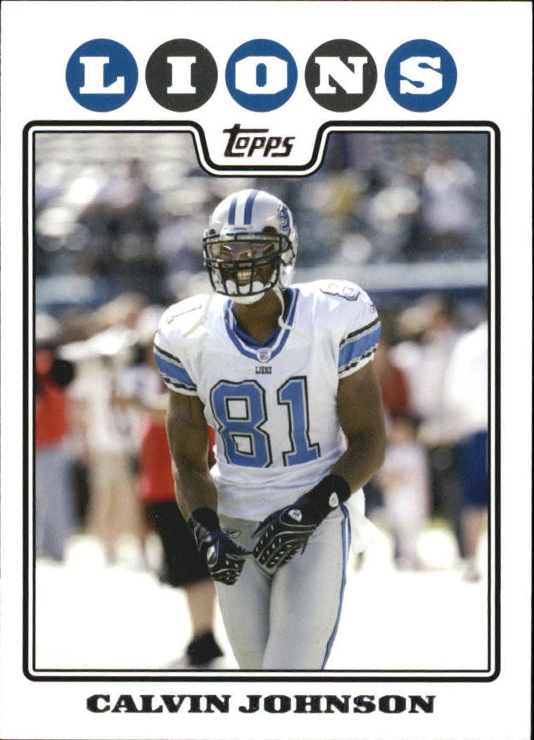 2008 Topps #136 Calvin Johnson