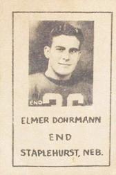 1939 Nebraska Don Leon Coffee #1 Elmer Dohrmann