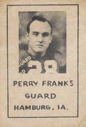 1939 Nebraska Don Leon Coffee #3 Perry Franks