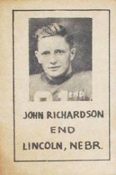 1939 Nebraska Don Leon Coffee #4 John Richardson
