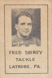 1939 Nebraska Don Leon Coffee #5 Fred Shirey