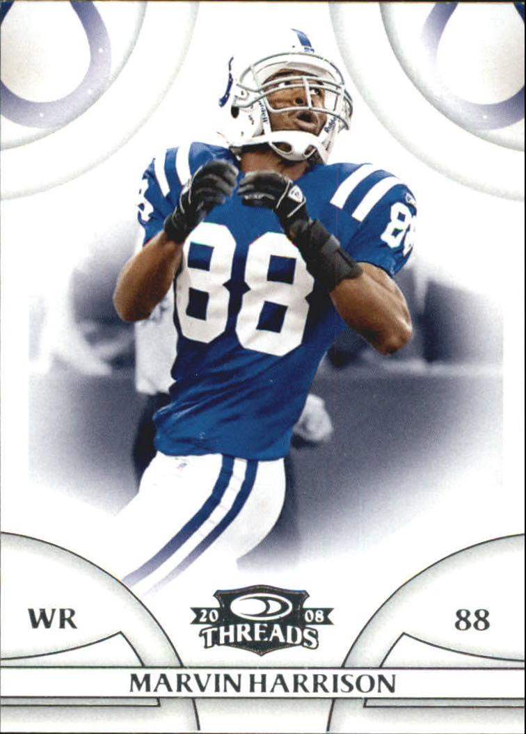 2008 Donruss Threads #57 Marvin Harrison