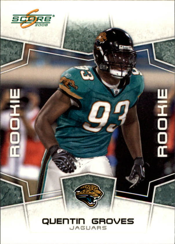 2008 Score #372 Quentin Groves RC