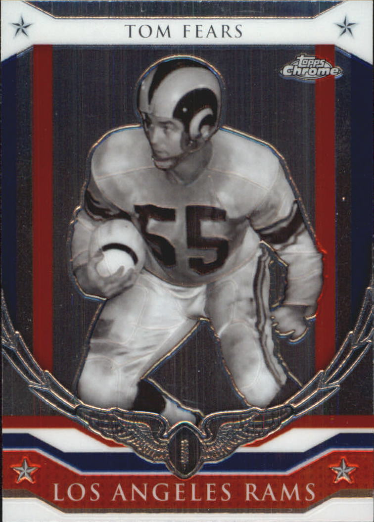 2008 Topps Chrome Honor Roll #HRTF Tom Fears
