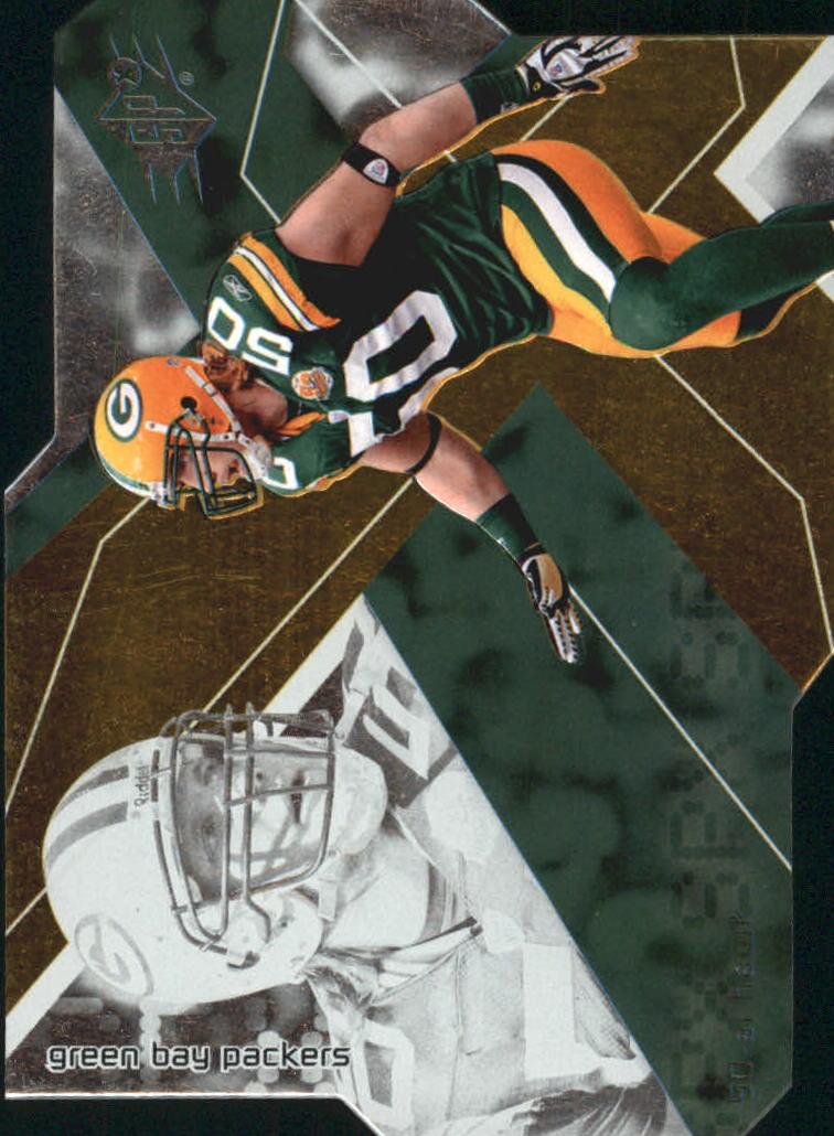 2008 SPx #1 A.J. Hawk