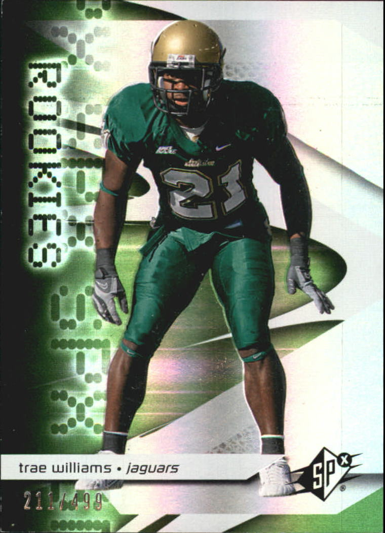 2008 SPx Green Holofoil Rookies #111 Trae Williams