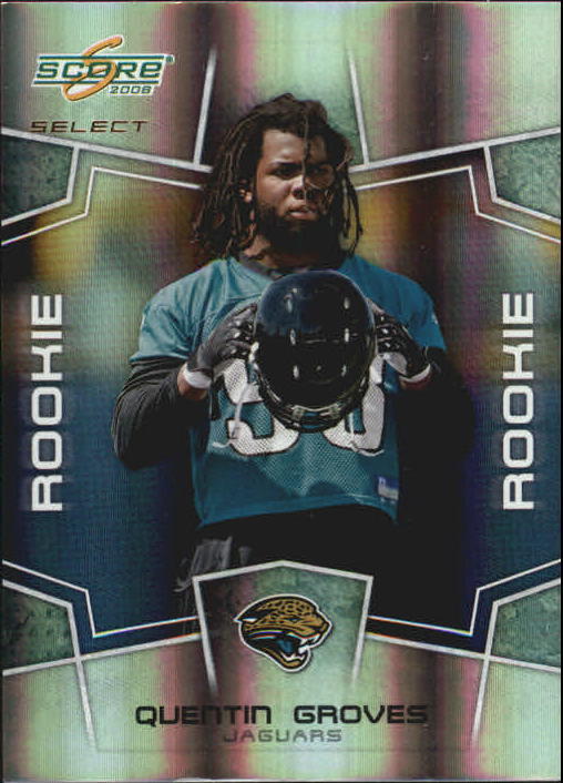 2008 Select #372 Quentin Groves RC