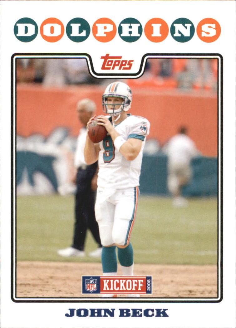 2008 Topps Kickoff #98 John Beck