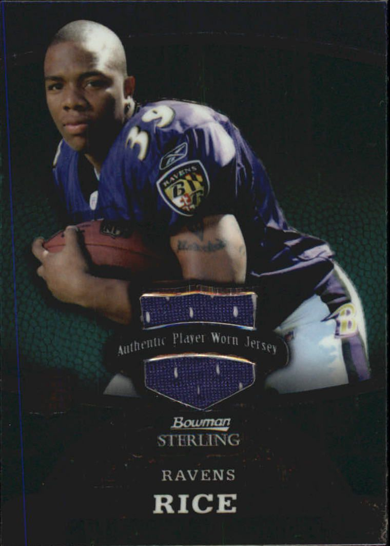 2008 Bowman Sterling #153A Ray Rice JSY RC
