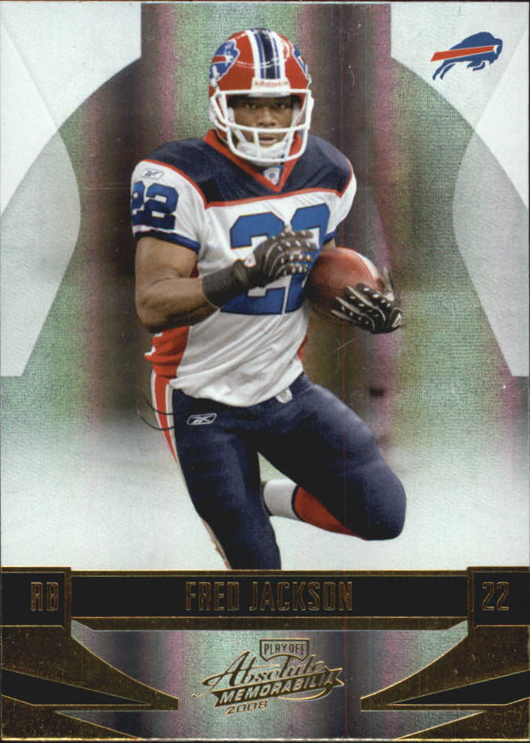 2008 Absolute Memorabilia #17 Fred Jackson RC