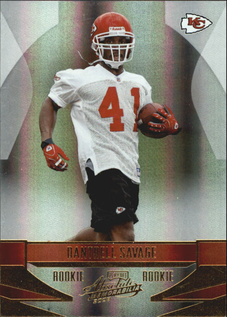 2008 Absolute Memorabilia #172 Dantrell Savage RC