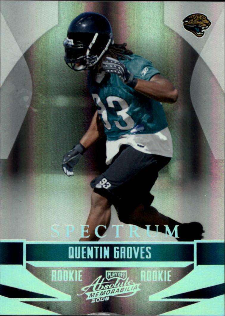 2008 Absolute Memorabilia Spectrum Silver #229 Quentin Groves