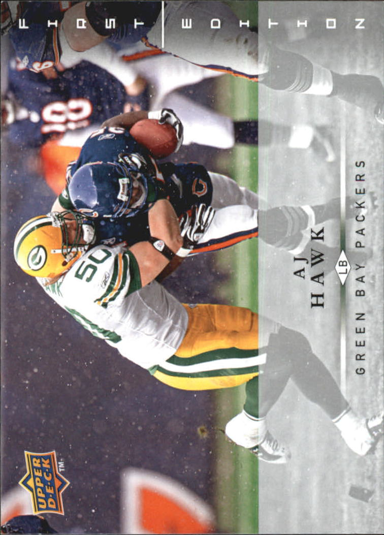 2008 Upper Deck First Edition #58 A.J. Hawk