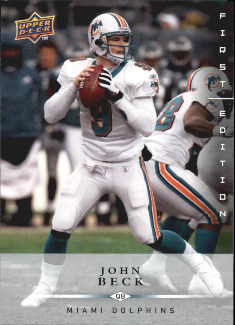 2008 Upper Deck First Edition #80 John Beck