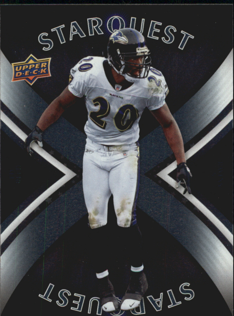 2008 Upper Deck First Edition StarQuest #SQ12 Ed Reed