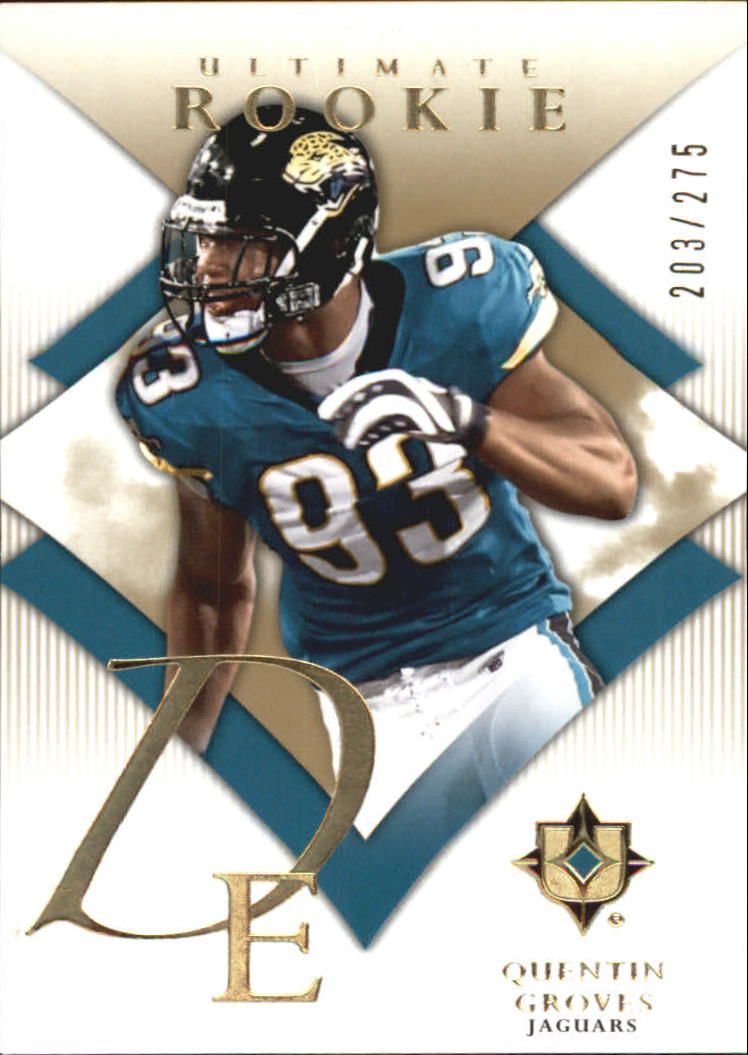 2008 Ultimate Collection #186 Quentin Groves RC