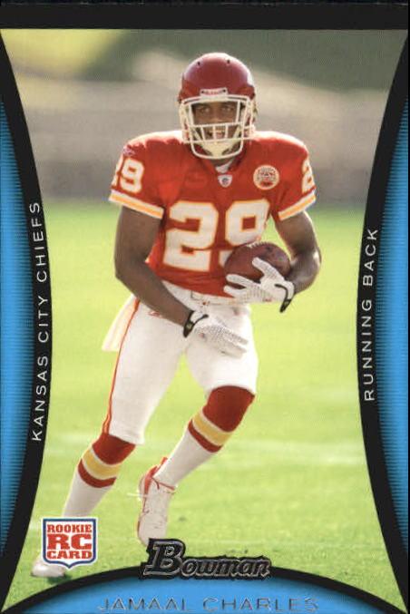 2008 Bowman #184 Jamaal Charles RC