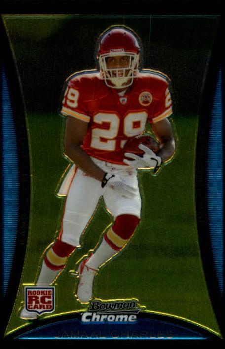 2008 Bowman Chrome #BC78 Jamaal Charles RC