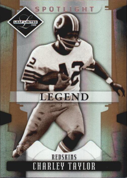 2008 Leaf Limited Bronze Spotlight #115 Charley Taylor