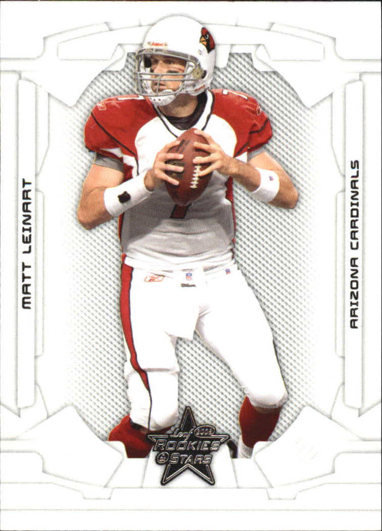 2008 Leaf Rookies and Stars #1 Matt Leinart