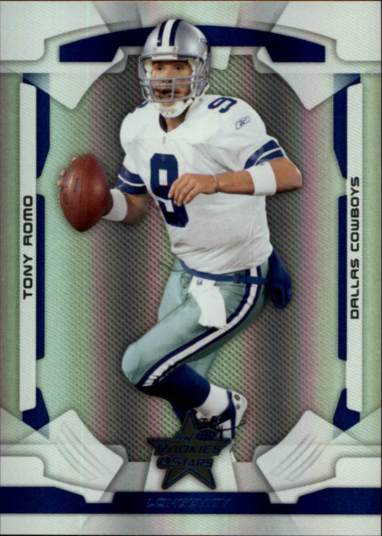 2008 Leaf Rookies and Stars Longevity Ruby #26 Tony Romo
