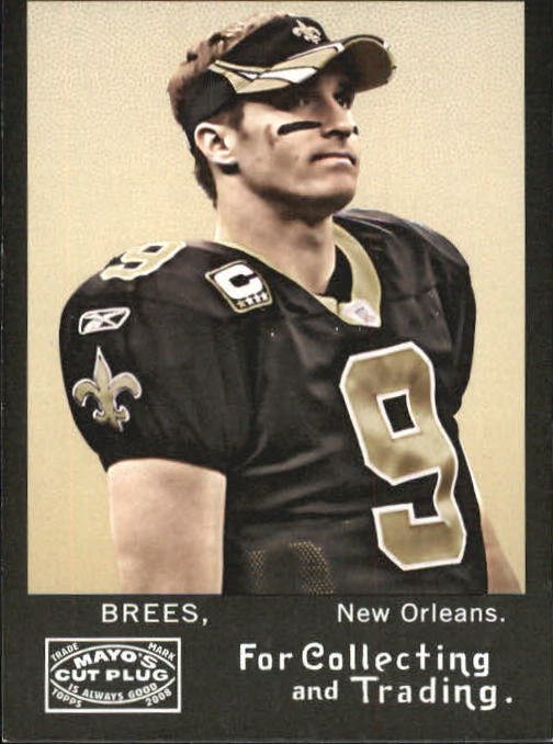 2008 Topps Mayo #1 Drew Brees