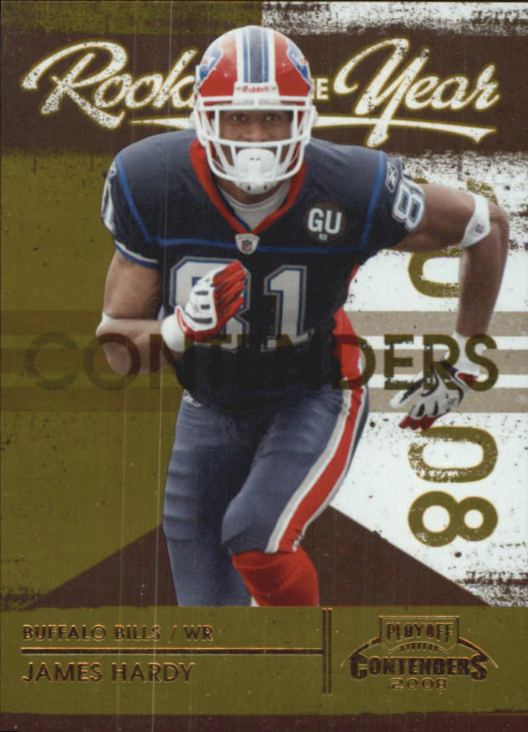2008 Playoff Contenders ROY Contenders Gold #26 James Hardy