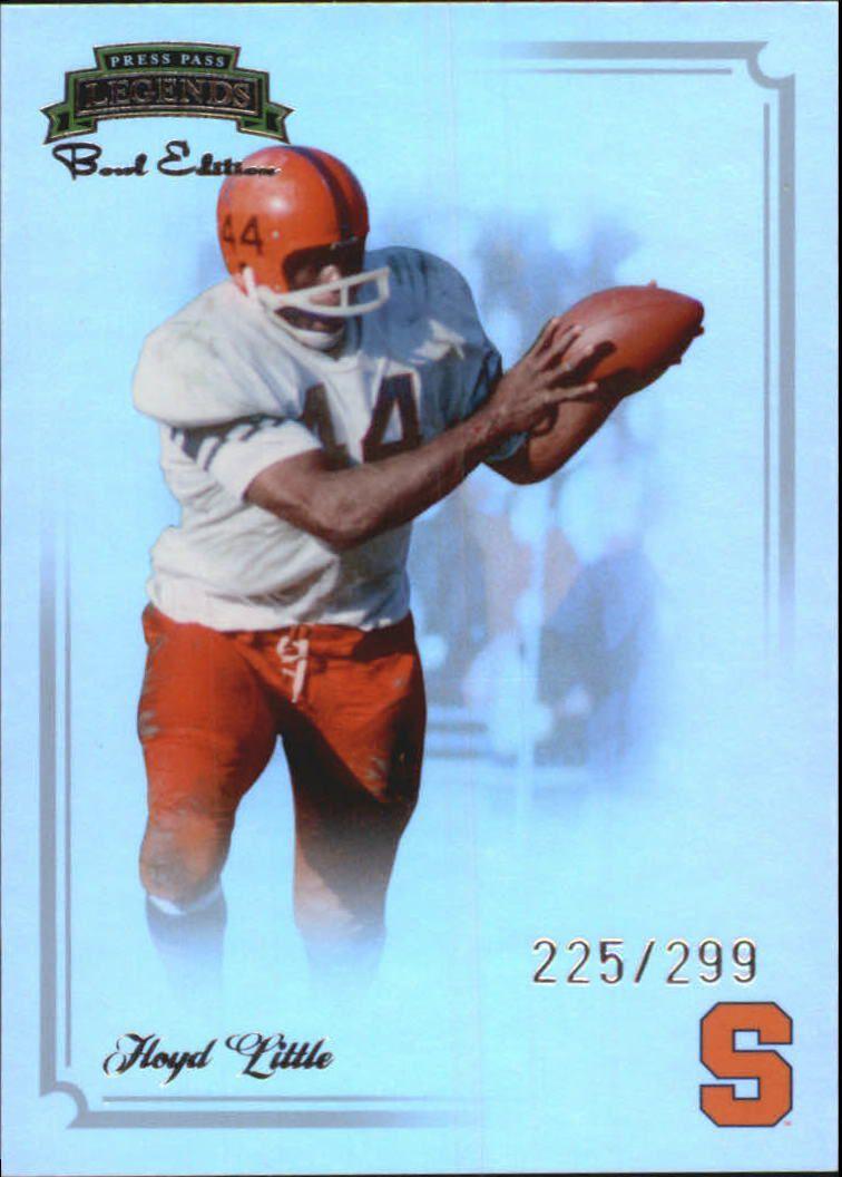 2008 Press Pass Legends Bowl Edition #49 Floyd Little