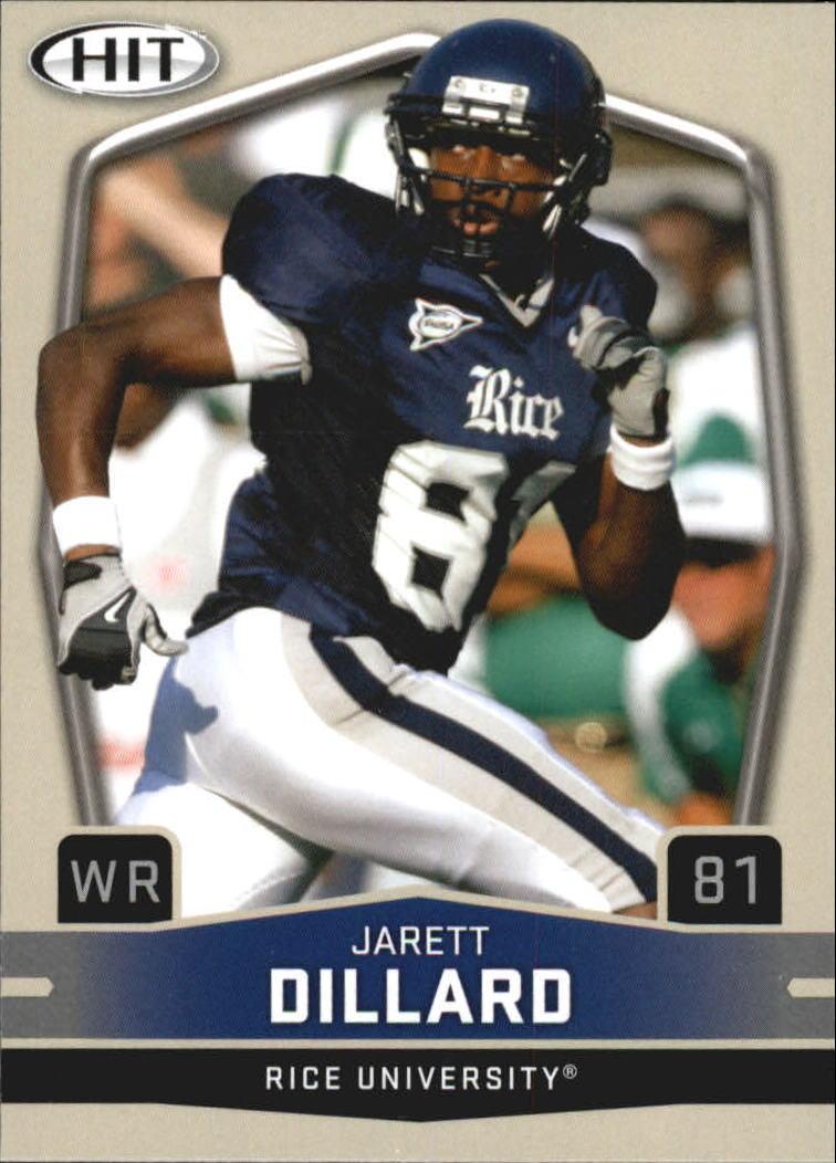 2009 SAGE HIT #18 Jarett Dillard