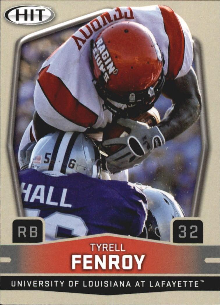 2009 SAGE HIT #76 Tyrell Fenroy