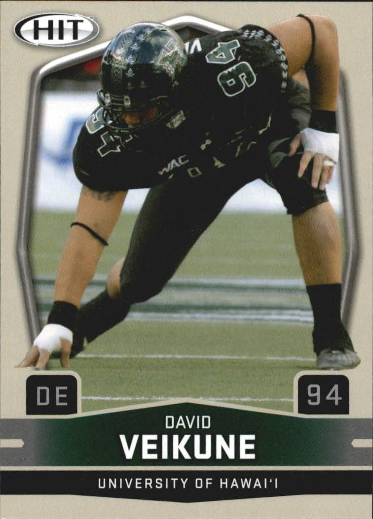 2009 SAGE HIT #94 David Veikune