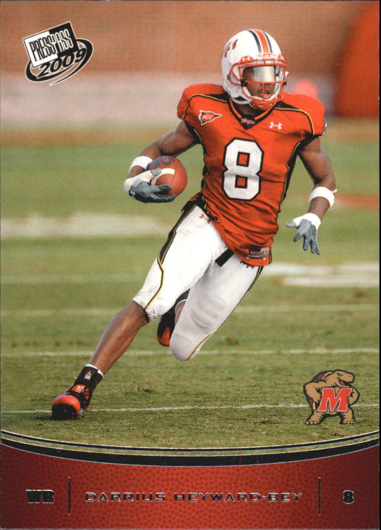 2009 Press Pass #26 Darrius Heyward-Bey