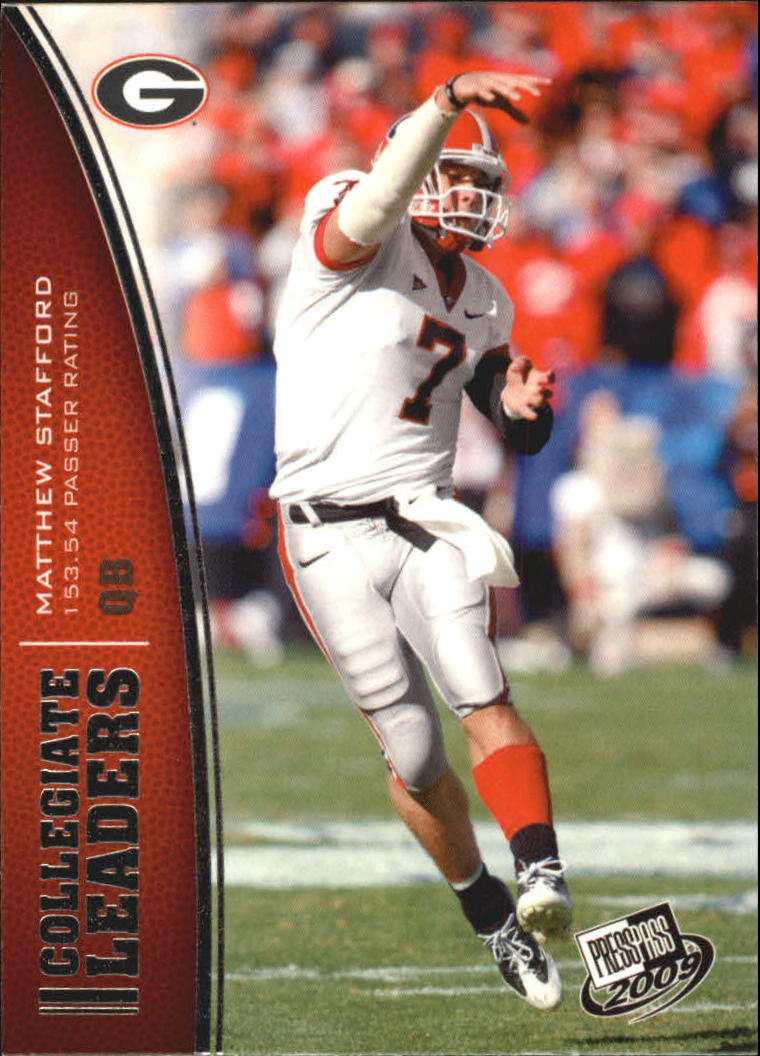 2009 Press Pass #77 Matthew Stafford LL