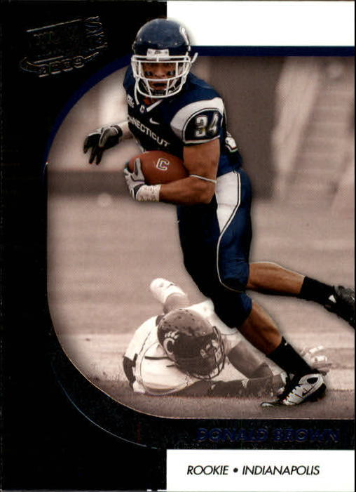 2009 Press Pass SE #8 Donald Brown