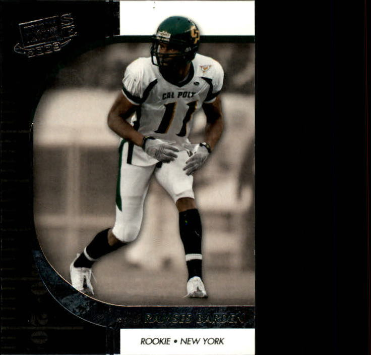 2009 Press Pass SE #17 Ramses Barden