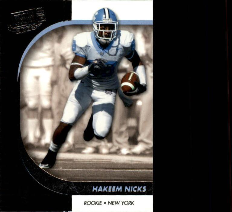 2009 Press Pass SE #24 Hakeem Nicks