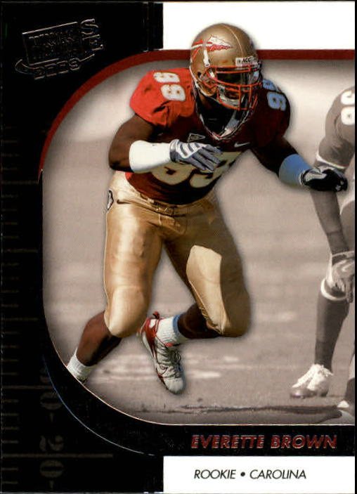 2009 Press Pass SE #29 Everette Brown