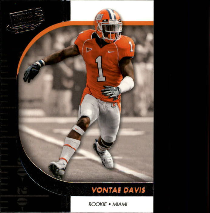 2009 Press Pass SE #37 Vontae Davis