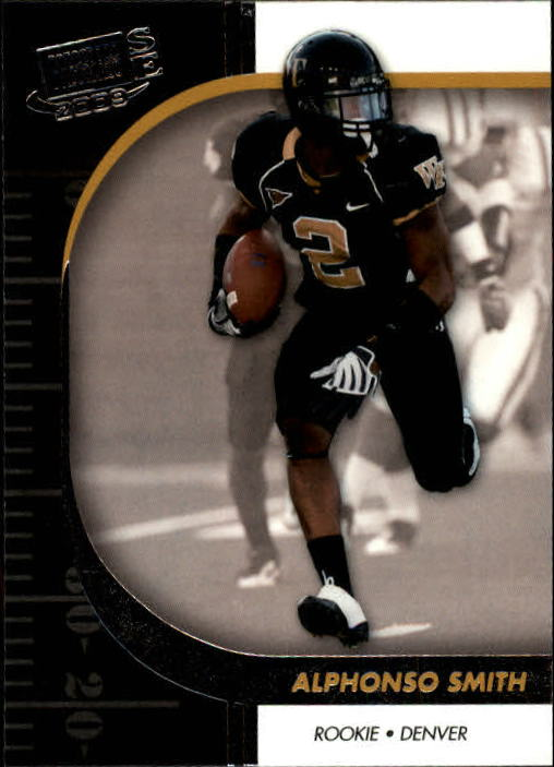 2009 Press Pass SE #41 Alphonso Smith