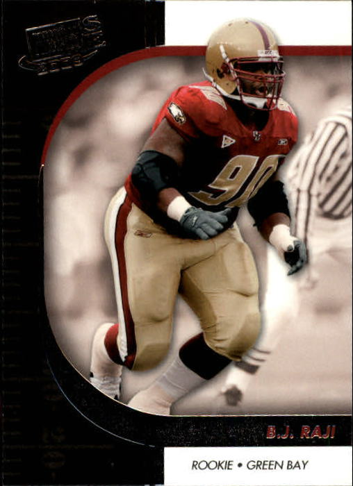 2009 Press Pass SE #42 B.J. Raji