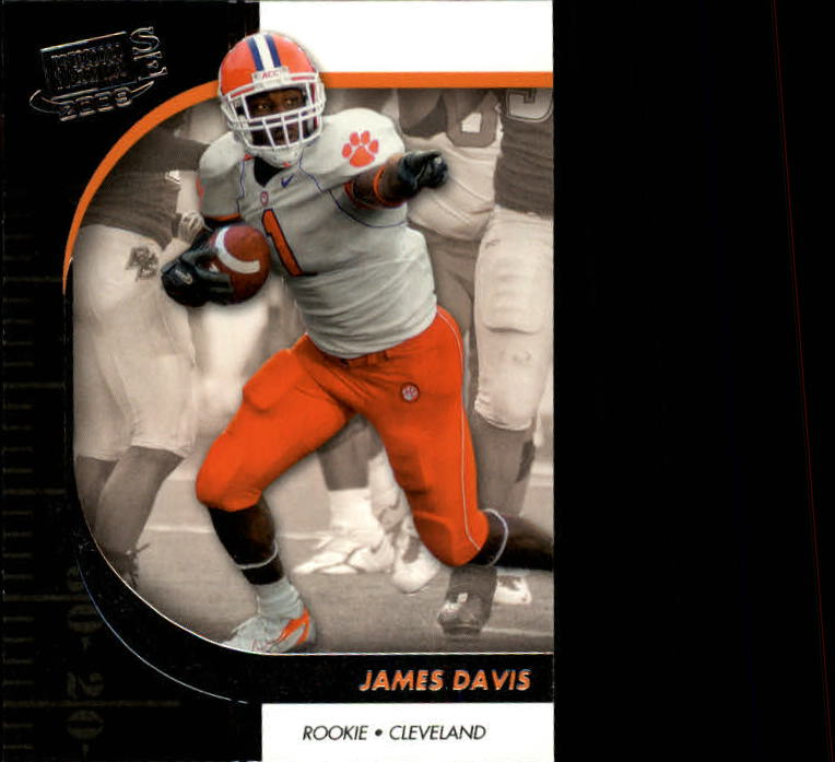2009 Press Pass SE #45 James Davis