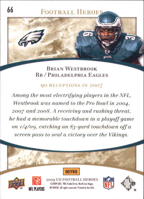 2009-Upper-Deck-Heroes-Football-1-269-Your-Choice-GOTBASEBALLCARDS thumbnail 113